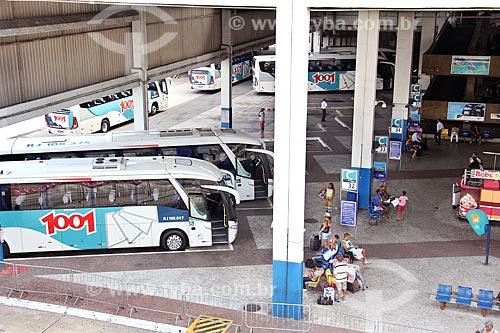 Ônibus no Terminal Rodoviário do Rio de Janeiro  - Rio de Janeiro - Rio de Janeiro (RJ) - Brasil