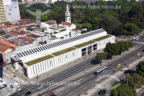 Vista de cima da Biblioteca Parque Estadual  - Rio de Janeiro - Rio de Janeiro (RJ) - Brasil