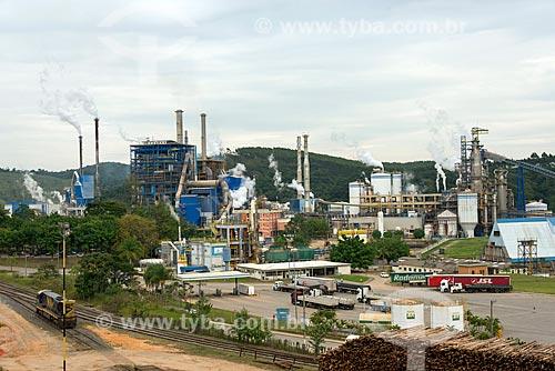Vista da fábrica da Fibria Celulose  - Jacareí - São Paulo (SP) - Brasil