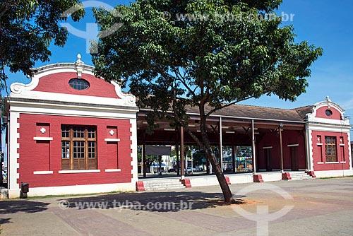 Fachada da antiga Estação Ferroviária de Tremembé (1866)  - Tremembé - São Paulo (SP) - Brasil