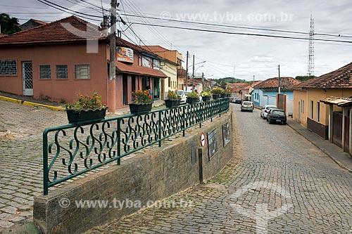 Detalhe do Muro do Pito  - Santa Branca - São Paulo (SP) - Brasil