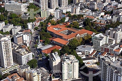 Foto aérea do Instituto Superior de Educação do Rio de Janeiro (ISERJ)  - Rio de Janeiro - Rio de Janeiro (RJ) - Brasil