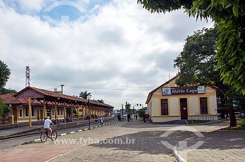 Antiga Estação Ferroviária de Jacareí, hoje abriga o Espaço Cultural Pátio dos Trilhos   - Jacareí - São Paulo (SP) - Brasil