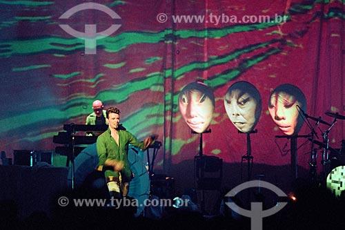 Show de David Bowie no Imperator  - Rio de Janeiro - Rio de Janeiro (RJ) - Brasil