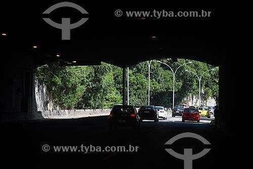Tráfego no Túnel Acústico Rafael Mascarenhas  - Rio de Janeiro - Rio de Janeiro (RJ) - Brasil