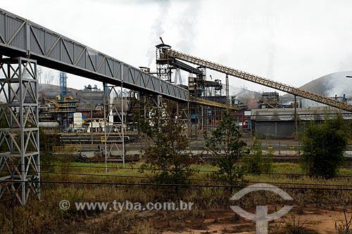 Mineradora às margens da Rodovia Vital Brazil (BR-267)  - Lima Duarte - Minas Gerais (MG) - Brasil