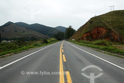 Rodovia Vital Brazil (BR-267) próximo à Lima Duarte  - Lima Duarte - Minas Gerais (MG) - Brasil