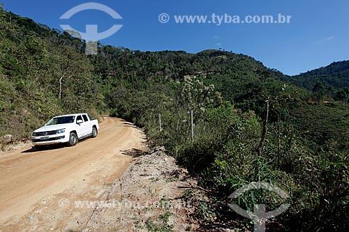 Estrada de terra próximo ao distrito de Conceição de Ibitipoca  - Lima Duarte - Minas Gerais (MG) - Brasil