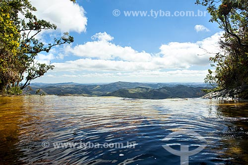 Vista geral do Parque Estadual do Ibitipoca a partir da Janela do Céu  - Lima Duarte - Minas Gerais (MG) - Brasil
