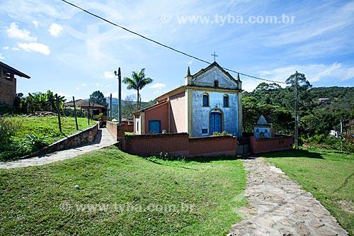 Fachada do Igreja de Nossa Senhora do Rosário  - Lima Duarte - Minas Gerais (MG) - Brasil