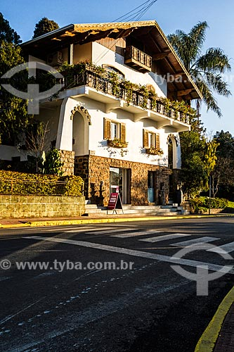 Casa em estilo alpino  - Treze Tílias - Santa Catarina (SC) - Brasil