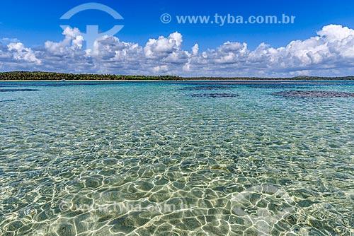 Vista das piscina natural da Praia de Moreré  - Cairu - Bahia (BA) - Brasil