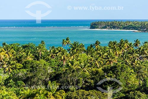 Vista da Ilha de Boipeba a partir da Pousada Céu de Boipeba  - Cairu - Bahia (BA) - Brasil