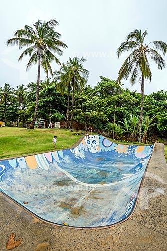 Pista de skate próximo à Praia da Tiririca  - Itacaré - Bahia (BA) - Brasil