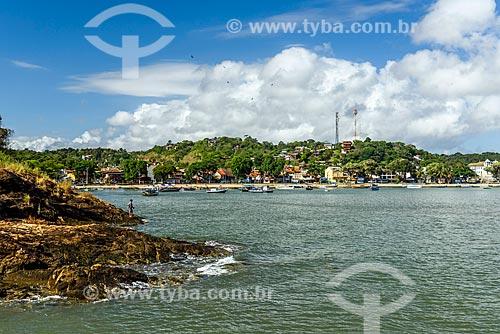 Vista da orla da Praia da Orla  - Itacaré - Bahia (BA) - Brasil