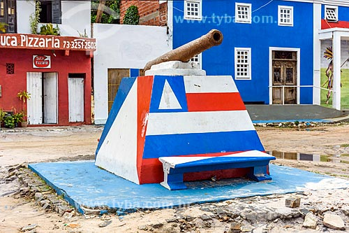 Monumento na orla da Praia da Orla  - Itacaré - Bahia (BA) - Brasil