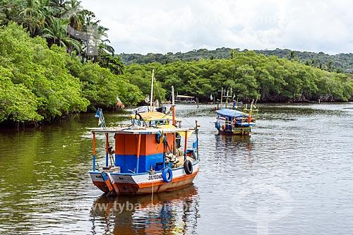 Pesqueiro no Rio de Contas  - Itacaré - Bahia (BA) - Brasil