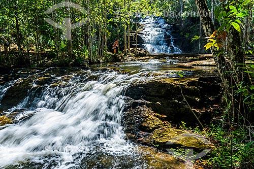 Vista da Cachoeira do Cleandro  - Itacaré - Bahia (BA) - Brasil