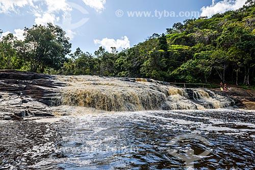 Vista da Cachoeira do Tremembé  - Maraú - Bahia (BA) - Brasil