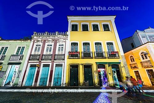 Casarios no Terreiro de Jesus - também conhecido como Praça 15 de Novembro  - Salvador - Bahia (BA) - Brasil
