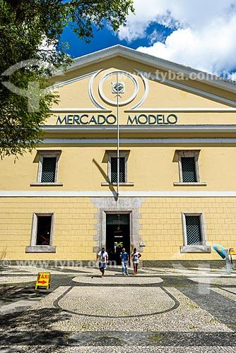 Fachada do Mercado Modelo (1912)  - Salvador - Bahia (BA) - Brasil