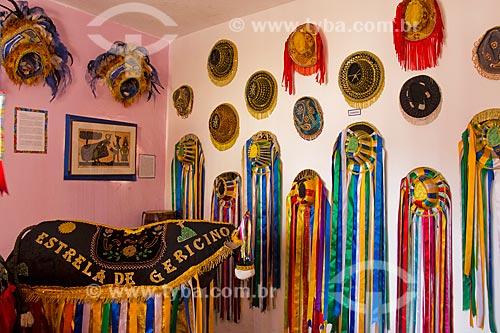 Interior do Museu Casa Bumba Meu Boi em Movimento na Vila Catiri  - Rio de Janeiro - Rio de Janeiro (RJ) - Brasil