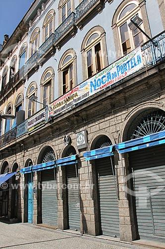Fachada do Centro Cultural Estudantina Musical  - Rio de Janeiro - Rio de Janeiro (RJ) - Brasil