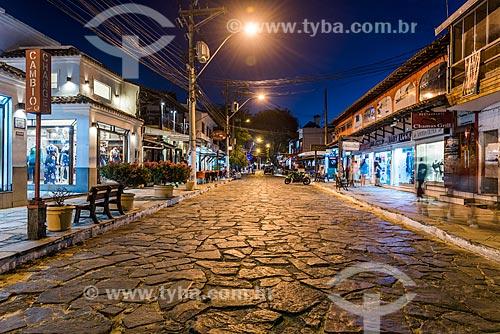 Vista da Rua das Pedras  - Armação dos Búzios - Rio de Janeiro (RJ) - Brasil