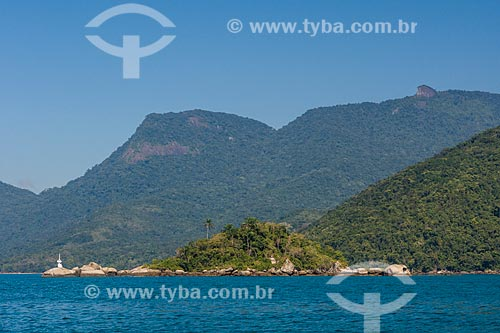 Vista da Enseada do Abraão a partir da Baía de Ilha Grande  - Angra dos Reis - Rio de Janeiro (RJ) - Brasil