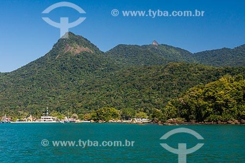 Vista da Vila do Abraão a partir da Baía de Ilha Grande  - Angra dos Reis - Rio de Janeiro (RJ) - Brasil