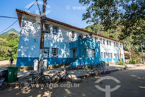 Fachada da Escola Municipal Brigadeiro Nóbrega  - Angra dos Reis - Rio de Janeiro (RJ) - Brasil