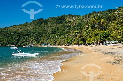 Vista da orla a Praia Grande de Palmas  - Angra dos Reis - Rio de Janeiro (RJ) - Brasil