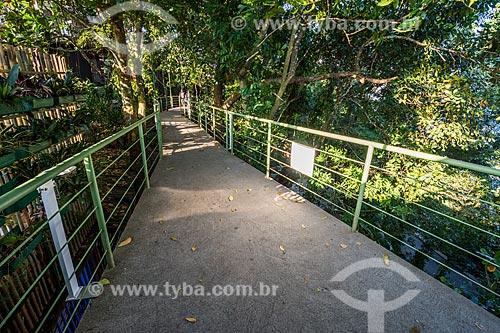 Via Verde - passarela de acesso ao Pão de Açúcar  - Rio de Janeiro - Rio de Janeiro (RJ) - Brasil