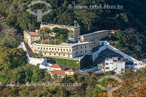 Vista da Fortaleza de São João a partir do Pão de Açúcar  - Rio de Janeiro - Rio de Janeiro (RJ) - Brasil
