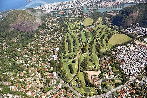 Foto aérea do Itanhangá Golf Club  - Rio de Janeiro - Rio de Janeiro (RJ) - Brasil