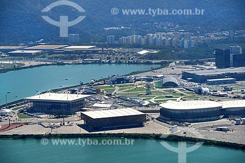 Foto aérea do Parque Olímpico Rio 2016  - Rio de Janeiro - Rio de Janeiro (RJ) - Brasil