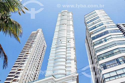 Fachada do Edifício Millennium Palace (2014) - o edifício mais alto do Brasil com 46 andares  - Balneário Camboriú - Santa Catarina (SC) - Brasil
