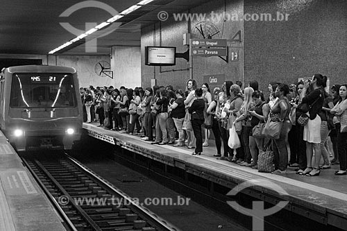 Estação Carioca do Metrô Rio  - Rio de Janeiro - Rio de Janeiro (RJ) - Brasil
