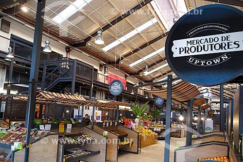Interior do Mercado dos Produtores no Shopping Uptown  - Rio de Janeiro - Rio de Janeiro (RJ) - Brasil