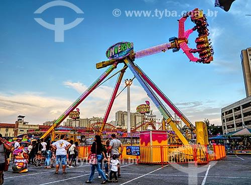 Parque de diversões Play City no estacionamento do Shopping Nova América  - Rio de Janeiro - Rio de Janeiro (RJ) - Brasil
