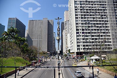 Vista da Avenida República do Chile  - Rio de Janeiro - Rio de Janeiro (RJ) - Brasil