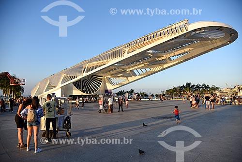 Vista do Museu do Amanhã a partir da Praça Mauá  - Rio de Janeiro - Rio de Janeiro (RJ) - Brasil