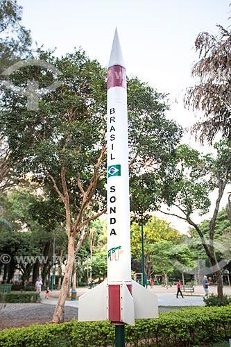 Sonda II do Programa Aeroespacial Brasileiro no Parque Santos Dumont  - São José dos Campos - São Paulo (SP) - Brasil