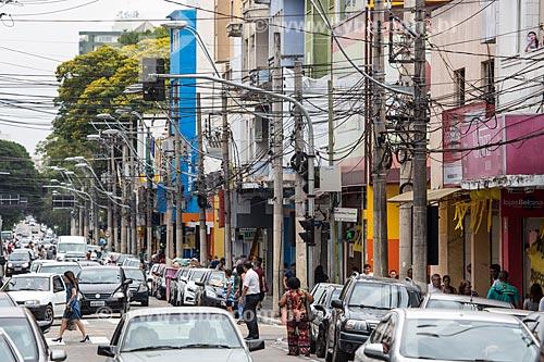Tráfego na Rua Quinze de Novembro  - São José dos Campos - São Paulo (SP) - Brasil