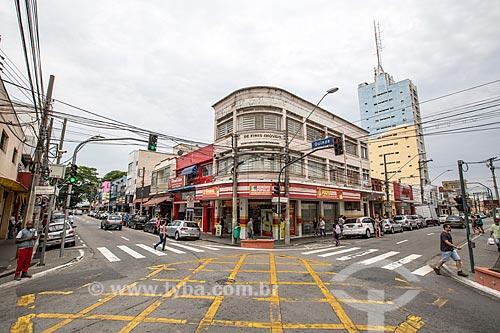 Esquina da Rua Quinze de Novembro com a Rua Sebastião Humel  - São José dos Campos - São Paulo (SP) - Brasil