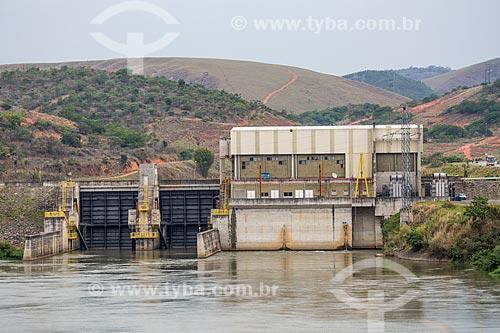 Vista da Usina Hidrelétrica Paulista de Lavrinhas  - Lavrinhas - São Paulo (SP) - Brasil