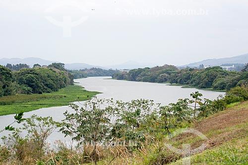 Vista do Rio Paraíba do Sul próximo à Resende  - Resende - Rio de Janeiro (RJ) - Brasil