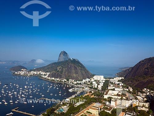 Vista aérea do Pão de Açúcar  - Rio de JaneiroRio de Janeiro - Rio de Janeiro (RJ)Rio de Janeiro (RJ) - BrasilBrasil