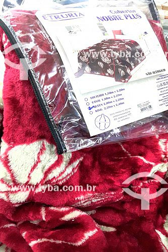 Cobertor com PET em sua composição - Produto Sustentável  - Rio de Janeiro - Rio de Janeiro (RJ) - Brasil