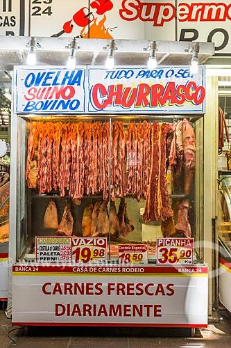 Açougue no Mercado Público de Porto Alegre (1869)  - Porto Alegre - Rio Grande do Sul (RS) - Brasil